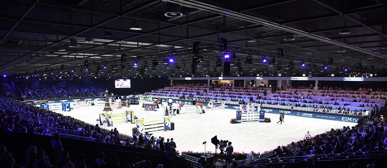 30/11/2017 ; Paris Villepinte ; Paris Longines Masters ; friday csi5 1m50 ; general view ; Sportfot