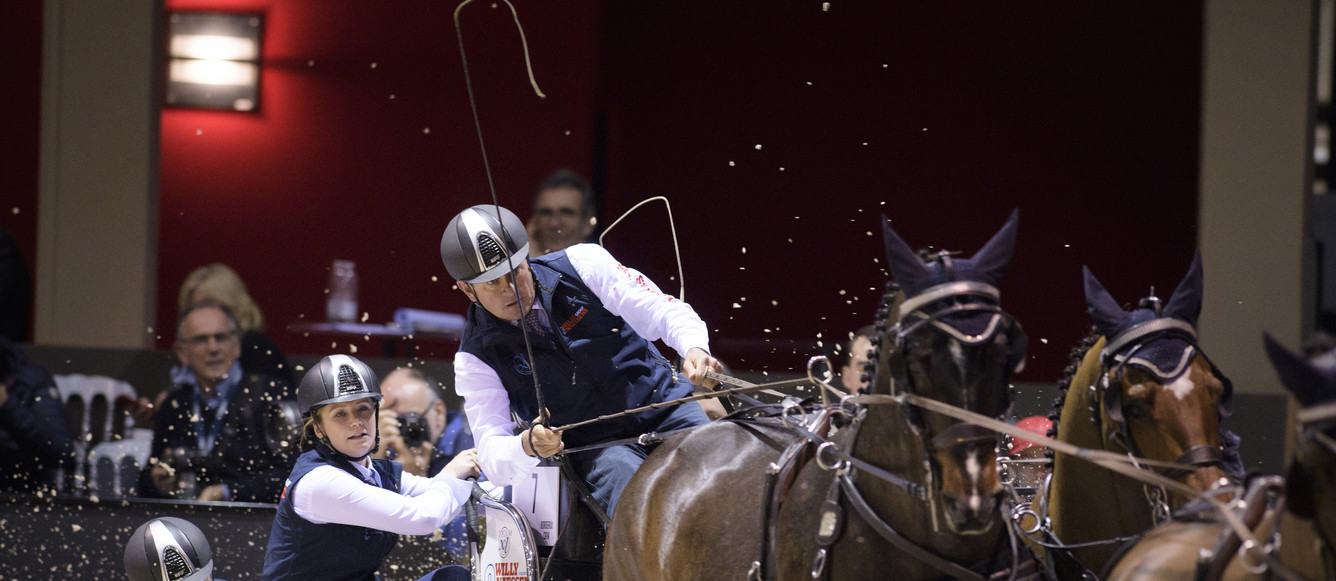 Coupe du monde Boyd Exell AUS©Photo FEI-Richard Juilliart