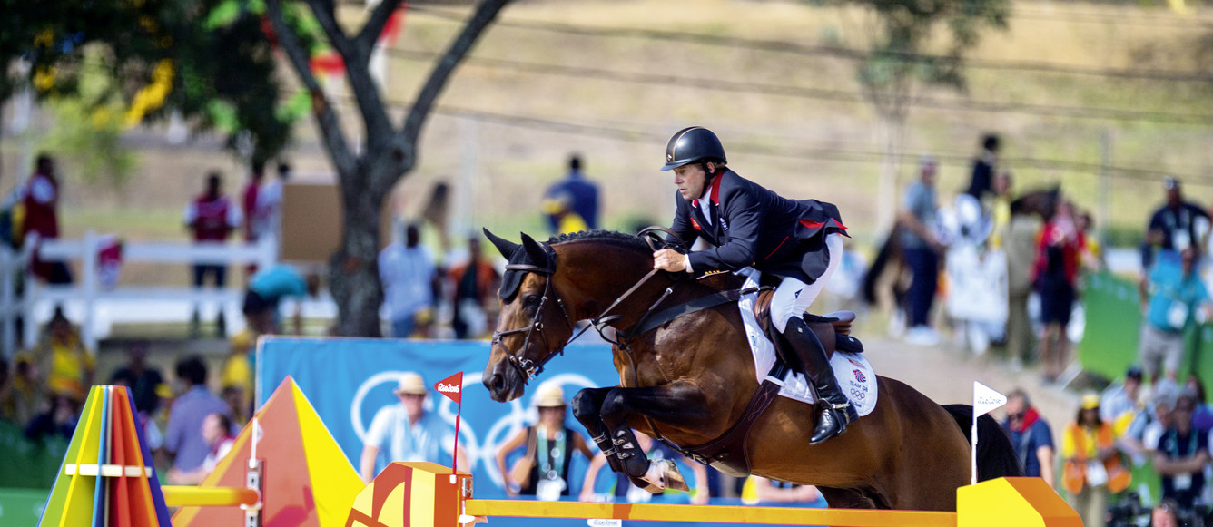 Jeux olympiques Skelton GBR riding Big Star Individual Gold medalists Rio©FEI-Arnd Bronkhorst
