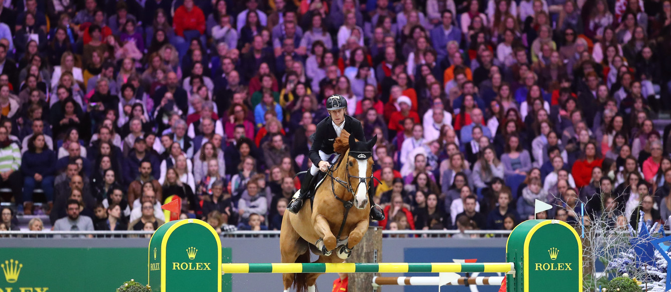 EHNING  Marcus (GER) riding Pret A Tout during the Rolex Grand Prix on December 9, 2018 in Geneva, Switzerland. (Photo by Scoop Dyga/Icon Sport)
