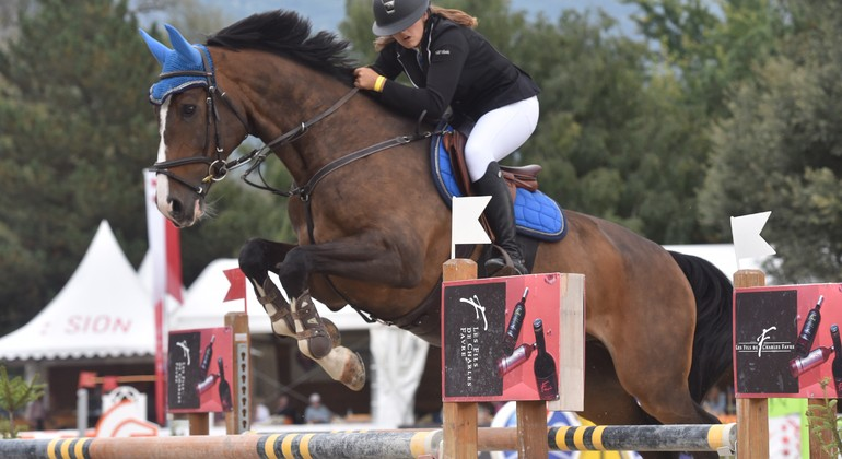 CSIO de Lamprechtshausen : Shirel et les juniors 2es